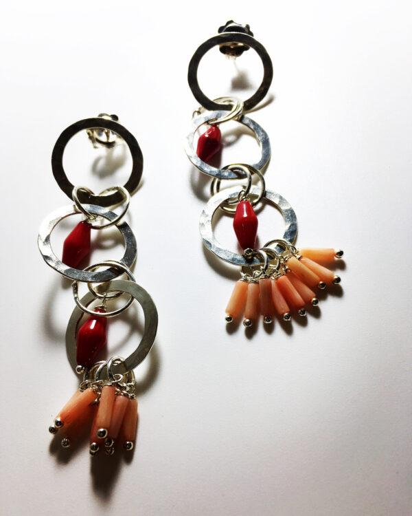 Earrings by Kimi Te